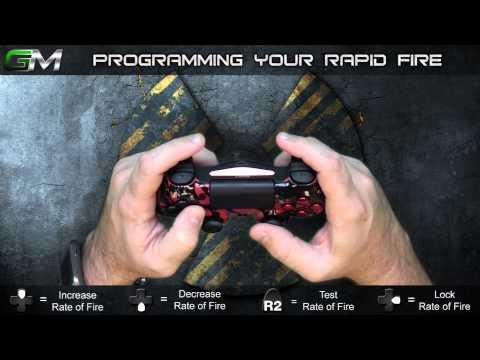 GamerModz PS4 SPS-X1 Ver. 2.0 - Rapid Fire Modded Controller Tutorial