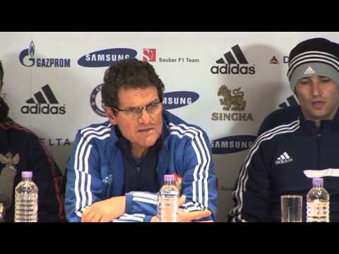 Fabio Capello press conference
