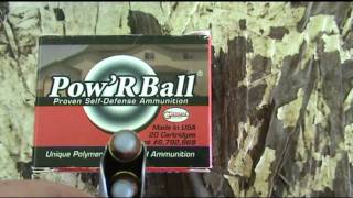 Pow'R Ball 9mm ammo test shot through Kahr PM9