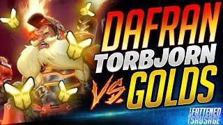Dafran TORBJORN vs GOLDS! #1 Best Player Plays Torb Against Golds!
