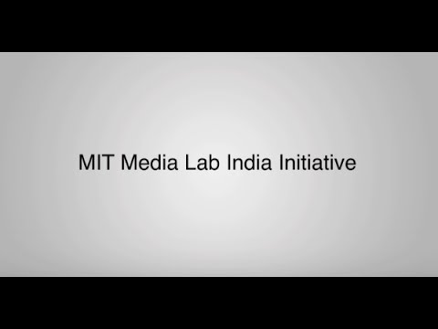 MIT Media Lab India Initiative