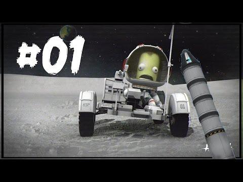 Kerbal Space Program [0.25] #01 Карьера на Умеренной Сложности
