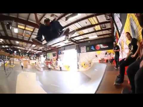 milton martinez huge kick flip raw reel uncut