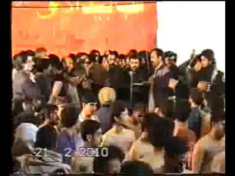 Dkhan Bawa Sibtain Shah, Noha  Hussain Fakhre Nabuwat video