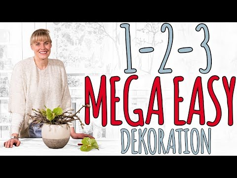 1-2-3 MEGA EASY DEKO DIY