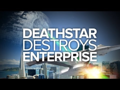 Death Star Destroys Enterprise (Special Edition) - IGN Original