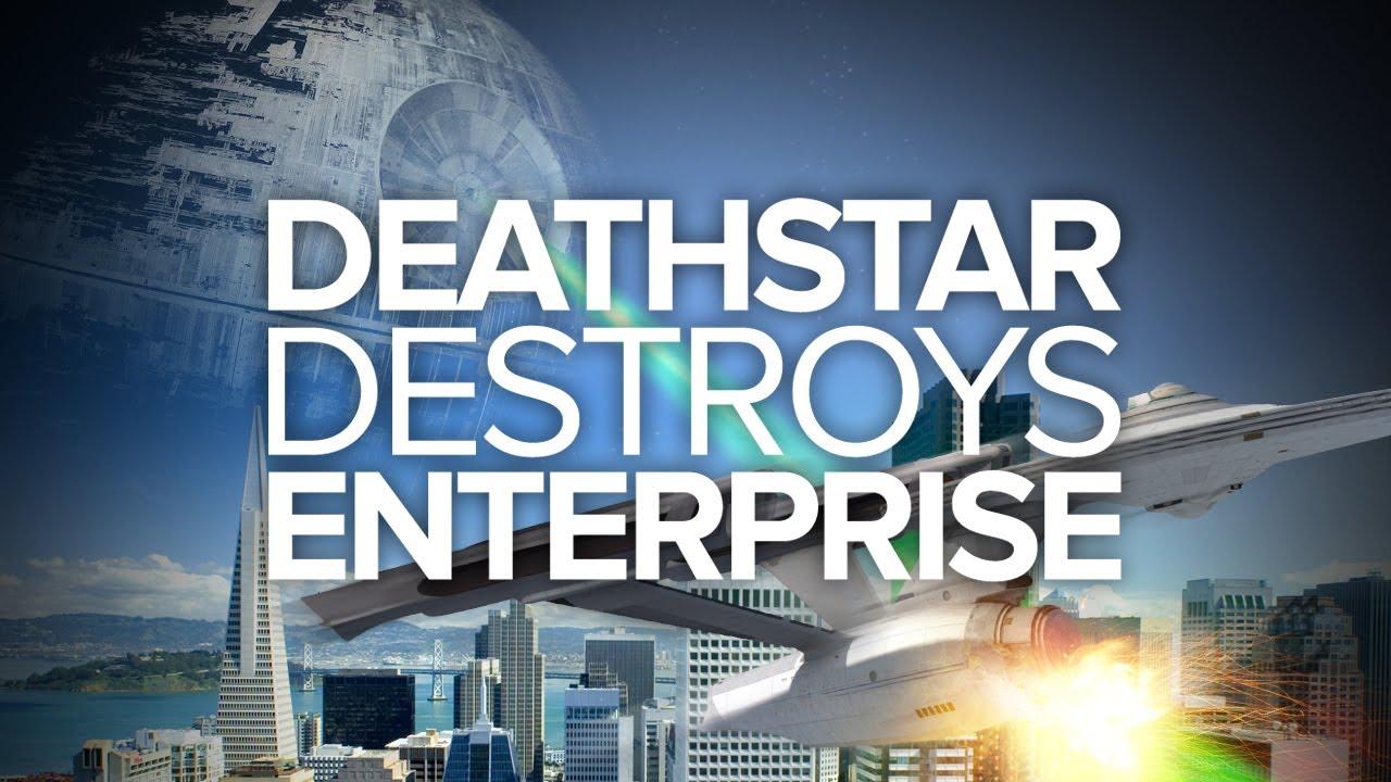 Death Star Destroys Enterprise Special Edition Ign