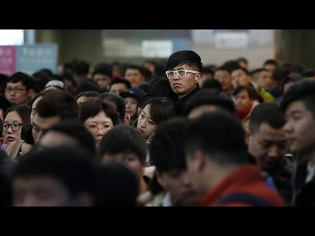 The planet's largest mass migration underway in China