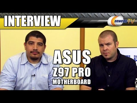 ASUS Z97 Pro Motherboard Interview with J.J. - Newegg TV