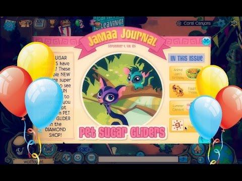 Animal Jam: Updates - Happy Birthdayyyy