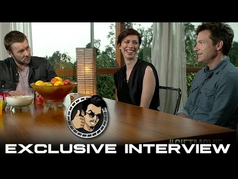 Jason Bateman, Joel Edgerton, Rebecca Hall Interview - The Gift (HD) 2015