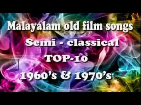 Malayalam Old Film Songs Semi Classical Non Stop 1970 video
