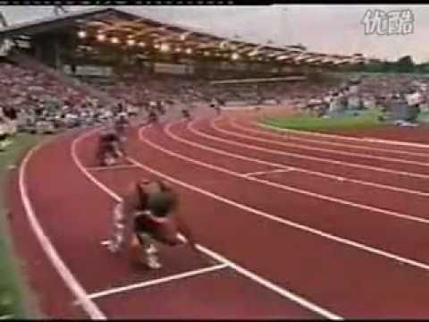 Michael Johnson 400m 43.98 - 1992 London Crystal Palace