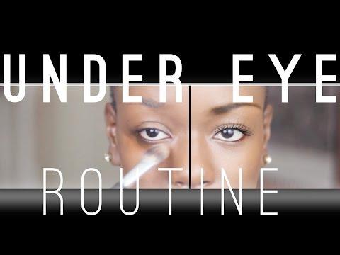 Ben Nye Under Eye Highlight  + How to Set foundation