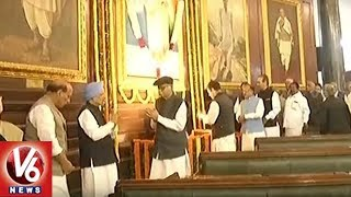 Leaders Pay Homage To Indira Gandhi On Her 101st Birth Anniversary In Parliament | Delhi