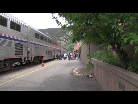 Amtrak HD  California Zephyr #5  Part 2  CHI to Emeryville