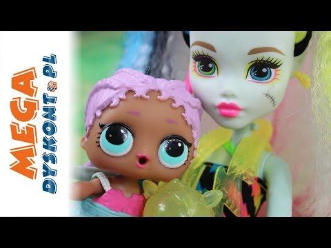 Nowi uczniowie - Lalki LOL Surprise & Monster High - Bajki dla dzieci