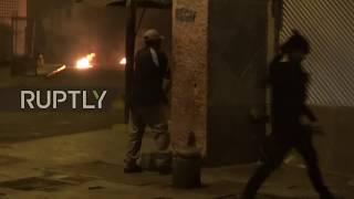 Venezuela: Protesters clash with police in Caracas