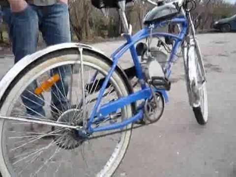 Rower z silnikiem