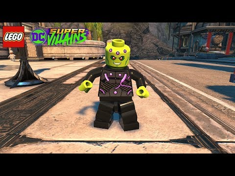 LEGO DC Super Villains Brainiac Unlock + Free Roam Gameplay