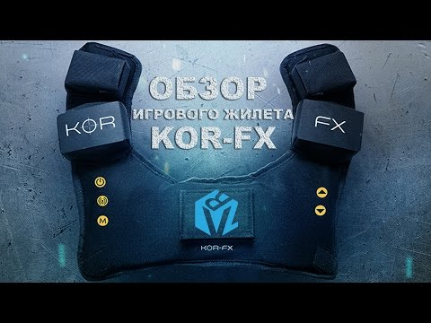 Обзор игрового жилета KOR-FX