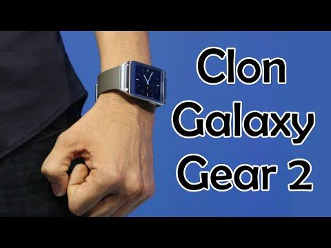Clon del Samsung Galaxy Gear 2 por menos de 70$