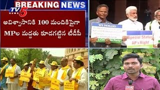 High Tension at Parliament | TDP No Confidence Motion