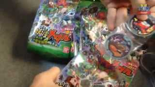 Yokai Medal Vol3 unboxing Asia version second box