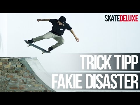Skateboard Trick Tipp: Fakie Disaster | Deutsch/German | skatedeluxe