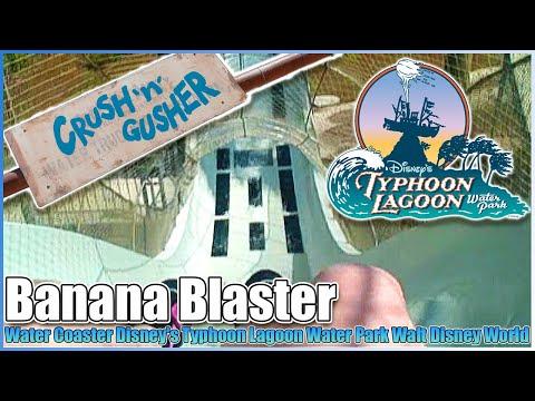 Crush 'n' Gusher Water Coaster Disney's Typhoon Lagoon Water Park Walt Disney World Resort