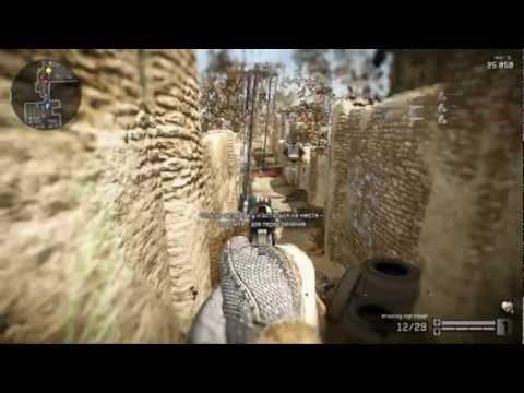 (Striger)Warface Прохождение миссия Кровавые пески..