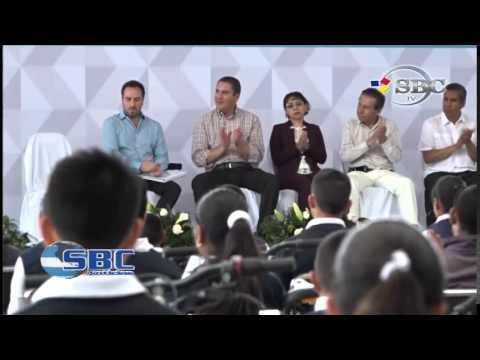 Inauguran Rehabilitacion de Primaria Josefa Ortiz de Dominmguez en Tehuacan 20 03 15
