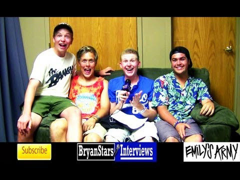 Check out my backstage interview with Emily's Army at Warped Tour 2012 Watch more of my Warped Tour interviews HERE: http://bit.ly/NndvEs For more informatio...