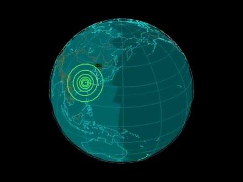 EQ3D ALERT: 3/14/16 - 5.5 magnitude earthquake in the East China Sea