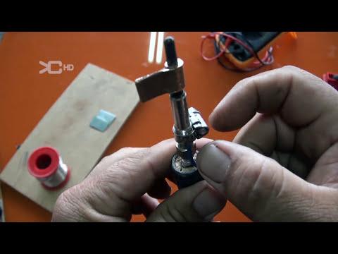 Cautin o soldador de estaño casero - soldering tin home