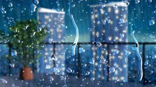 Thunder + Rainstorm for Sleeping, Studying, Focus   Rain White Noise 10 Hours