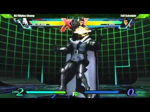 Filipino Champ vs Full Schedule (Final Round 17) Ultimate Marvel vs Capcom 3