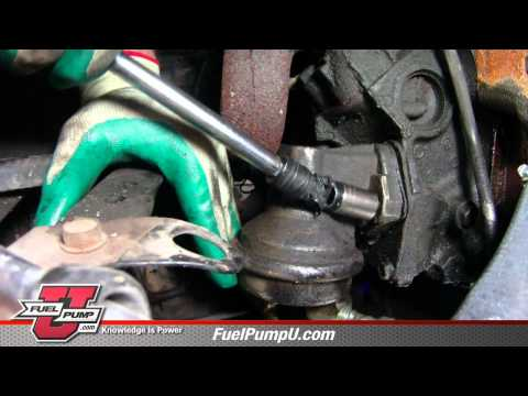 How to Install Mechanical Fuel Pump in 1969-1988 Chevrolet & GMC Trucks Manu