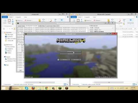 Como Descargar minecraft 1.6.2 pirata [online]  [launcher 1.0.10] [como si fueras premium]