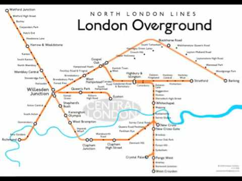 Design Of A New London Overground Map YouTube