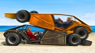 RAMP CAR vs. RAMP CAR RACE! (GTA 5 Funny Moments)