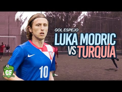 GOL ESPEJO - LUKA MODRIC VS TURQUÍA