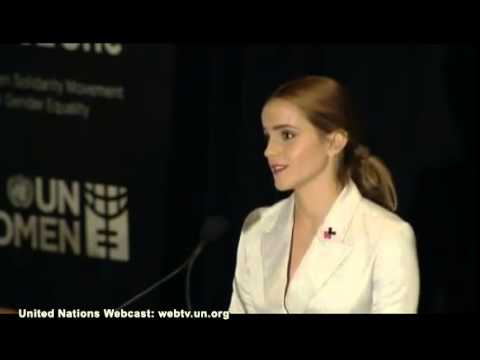 Emma Watson speaks at UN Women He for She Launch