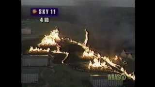 WHAS-TV 1996: 11/17/96 Distillery Fire Part 1