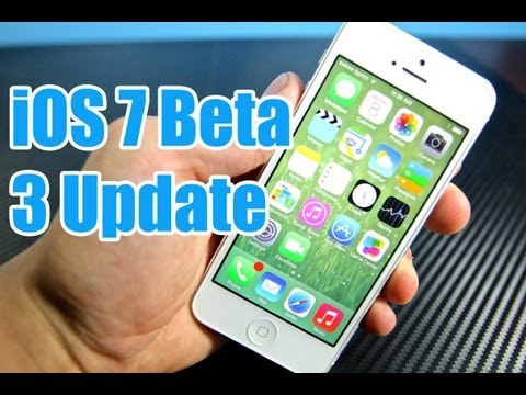 iOS 7 Beta 3 Released - How To Install & Update on iPhone 5/4S/4 iPad 4/3/2 & Mini & iPod 5G