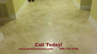 Cleaning Honed Travertine, Tumbled Travertine, and Porcelain Tile in Los Angeles