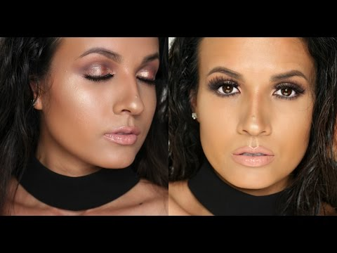 Summer Bronze Makeup tutorial   Easy glow makeup look   AdriLunaMakeup