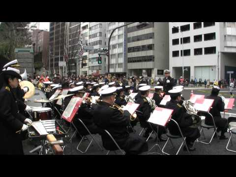 Anchors Aweigh March 行進曲『錨を上げて』 - JMSDF Band Tokyo