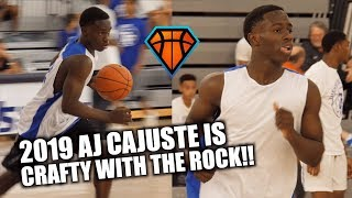 AJ Cajuste is One of CRAFTIEST Point Guards in South Florida!! | NTF THEworkout Highlights
