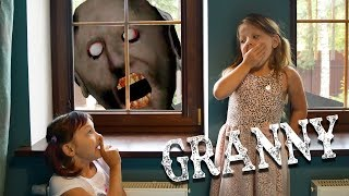Granny became GIANT! Evoke Granny!  Granny in real life! Fun video for kids